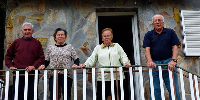 Milucho, Carmen , Chefa y Manolo