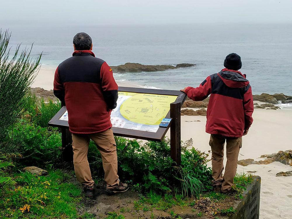 Vigilantes del Parque Nacional Illas Atlánticas